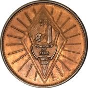 Souvenir token - Township of Teck (Kirkland Lake, Ontario) – avers