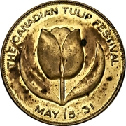 Souvenir token - Canadian Tulip Festival (Ottawa, Ontario) – avers