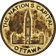 Souvenir token - Canadian Tulip Festival (Ottawa, Ontario) – revers