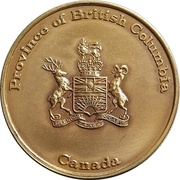 Medal - Province of British Columbia – avers