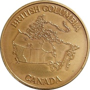 Medal - Province of British Columbia – revers