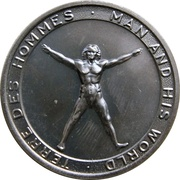 Medal - Terre Des Hommes Man and His World – avers