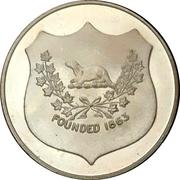 Medal - Tillsonburg, Ontario (Canadian centennial) – revers