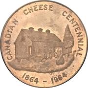 Medal - Canadian Cheese Centennial (Norwich, Ontario) – avers