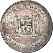 Souvenir token - Toronto City Hall – avers