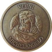 Token - Eternal Michelangelo (Mladinska Knjiga, Ljubljana) – avers