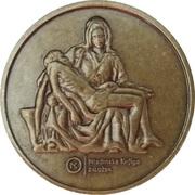 Token - Eternal Michelangelo (Mladinska Knjiga, Ljubljana) – revers