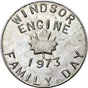 Souvenir token - Chrysler Windsor Family Day – revers