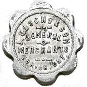 1 Dollar - J. Gascho & Son (Zurich, Ontario) – avers