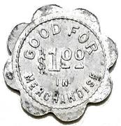 1 Dollar - J. Gascho & Son (Zurich, Ontario) – revers