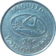 25 cents - Casino Paquito (Volčja Draga) – avers