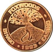 Token - Foxwoods American Wildlife Series – avers