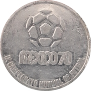 Token - 1970 FIFA World Cup (Italy) – revers