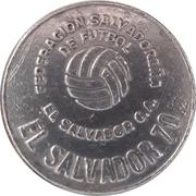 Token - 1970 FIFA World Cup (El Salvador) – avers
