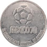 Token - 1970 FIFA World Cup (Czechoslovakia) – revers