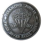 Medal - Thief River Falls, Minnesota (Diamond Jubilee) – avers