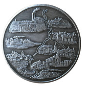Medal - Thief River Falls, Minnesota (Diamond Jubilee) – revers