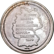 Medal - Willy Brandt / Willi Stoph – revers