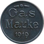 Gas Marke - Städt. Gaswerk (Grünstadt) – revers