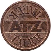 1 Taler - ATZ – avers