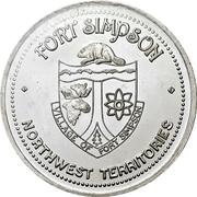 Token - Fort Simpson, Northwest Territories – avers