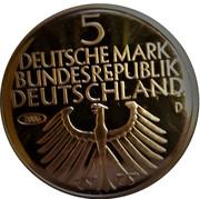 5 Deutsche Mark (Germanic Museum; Replica) – avers