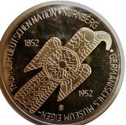 5 Deutsche Mark (Germanic Museum; Replica) – revers