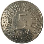 Medal - 40 years of German currency – avers