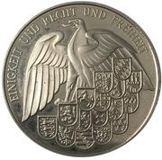 Medal - 40 years of German currency – revers