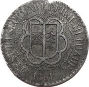 THANN - 7ème centenaire 1161-1861 – avers