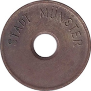 Public swimming pool token - Munster - type1 (youth) – avers