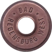Public swimming pool token - Regensburg (youth) – avers