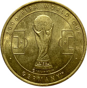Token - 2006 FIFA World Cup (Togo) – revers