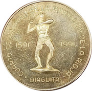 400 Pesos (La Rioja Token Coinage; Diaguita) – revers