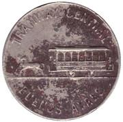 Jeton de tramway - Buenos-Aires (faute d'orthographe) – avers
