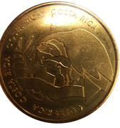 Soccer World Cup 2006 Medals - Costa Rica – avers