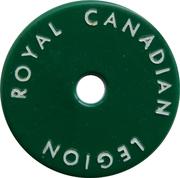 Royal Canadian Legion Branch 60 – revers