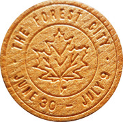 Canadian Wooden Nickel – avers