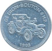 Jeton Shell - De Dion-Bouton 6 H.P. 1903 – avers
