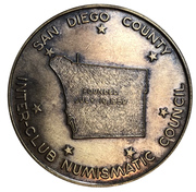 Medal - Inter-Club Numismatic Council (21st Coinarama) – revers