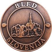 Token - Bled Slovenija – avers