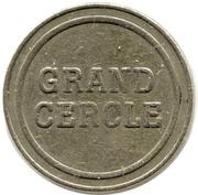 Casino du grand cercle Aix-Les-Bains (73) – avers