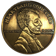 Medal - Heartland Coin Club (41st Anniversary) – revers