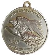 Medallion - 1000 Dollars (Las Vegas) – revers