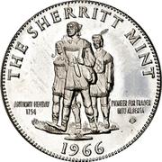 Advertising Token - Sherritt Mint – avers