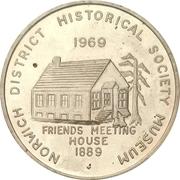 Souvenir token - Norwich, Ontario – revers