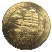 Medal - California State Numismatic Association (67th Convention) – avers