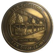 Medal - Inter-Club Numismatic Council (38th Coinarama, San Diego Trolley) – avers