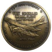 Medal - Inter-Club Numismatic Council (36th Coinarama, Air Mail Anniversary – avers