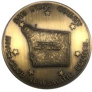 Medal - Inter-Club Numismatic Council (36th Coinarama, Air Mail Anniversary – revers